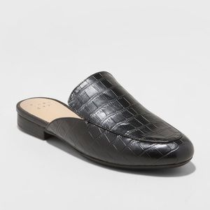 New Women's Anney Backless Mules 7.5